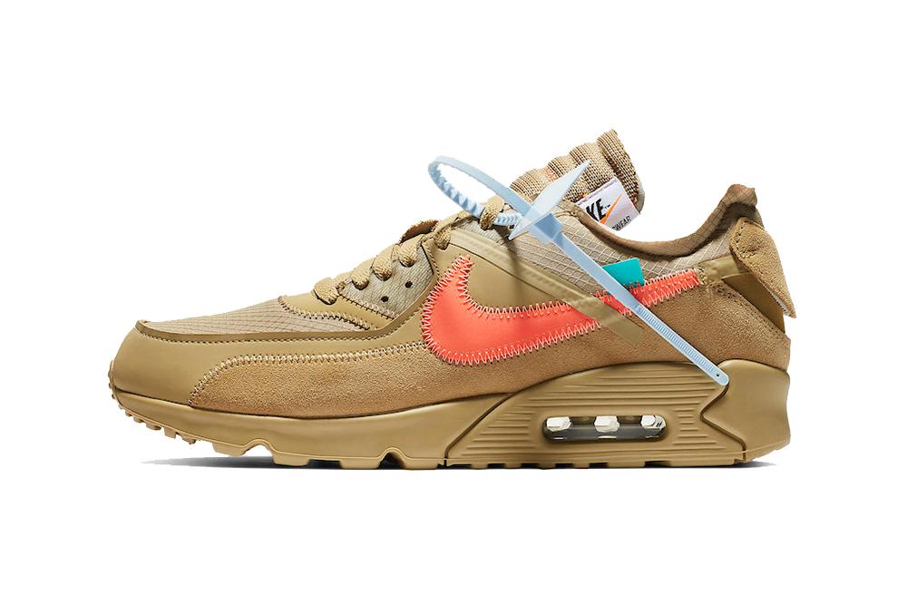 Off White™ x Nike Air Max 90「Desert Ore」发售详情公开_原创_
