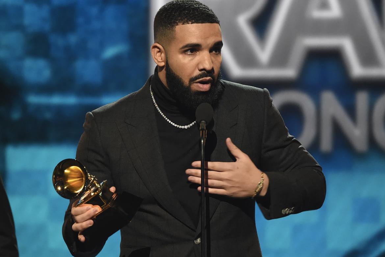 Drake「最佳说唱歌曲」得奖演说遭质疑贬低 Grammy