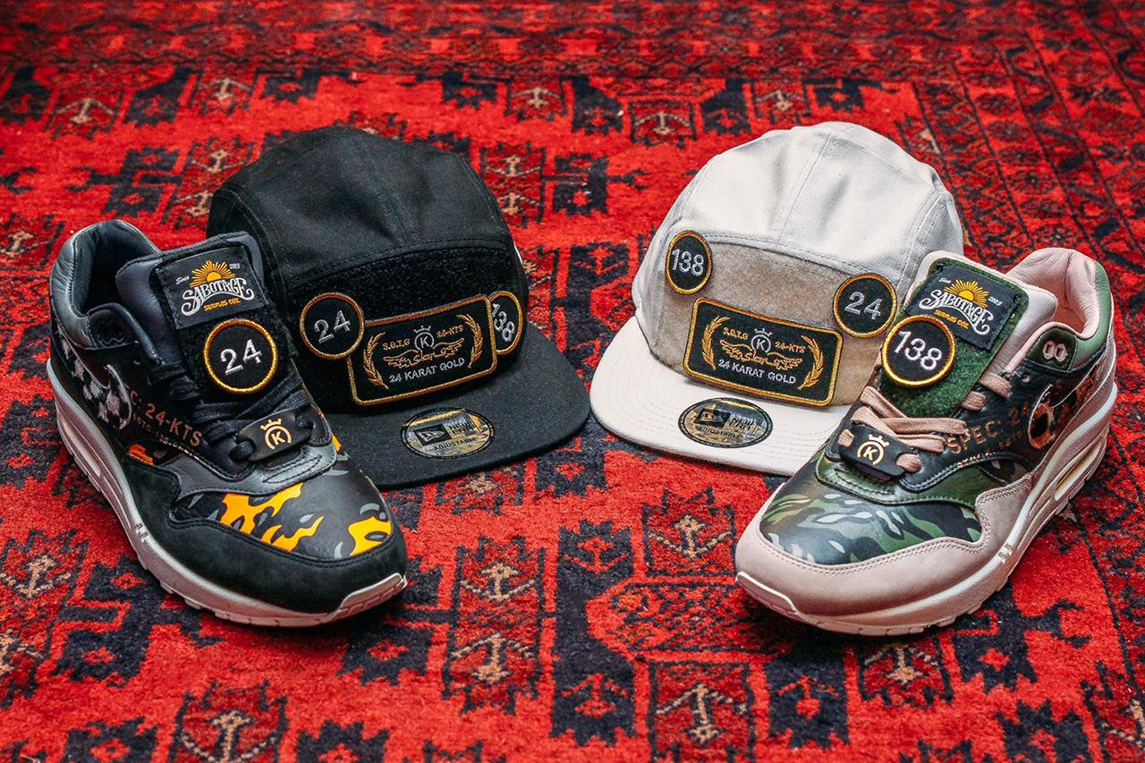 24 Kilates 携手 SBTG 打造全新 Nike Air Max 1 客制鞋款