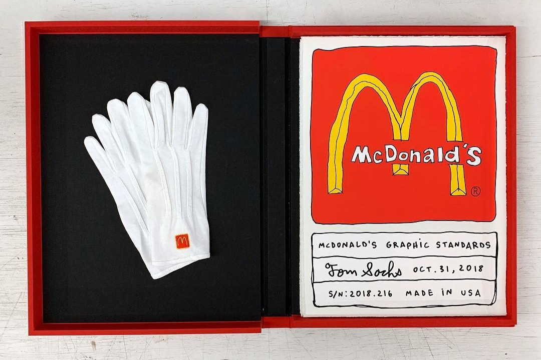 Tom Sachs 再献新猷推出别注「McDonald's Graphic Standards」