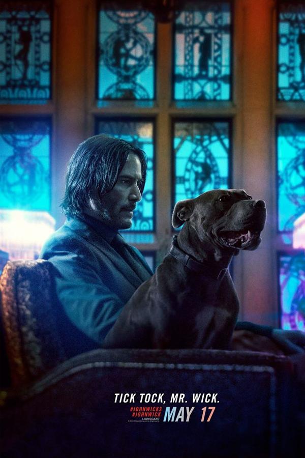 《John Wick 3: Parabellum》最新电影角色海报正式公开