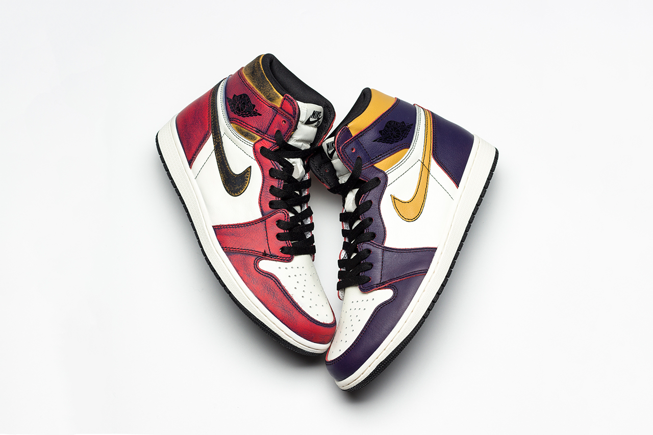 Nike SB x Air Jordan 1「Lakers」中竟然还藏着一双「Chicago」?