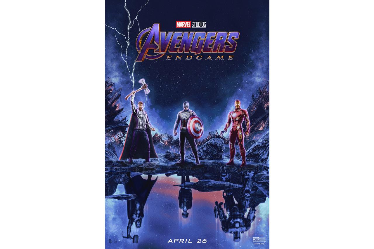 《Avengers: Endgame》艺术家创作电影海报释出
