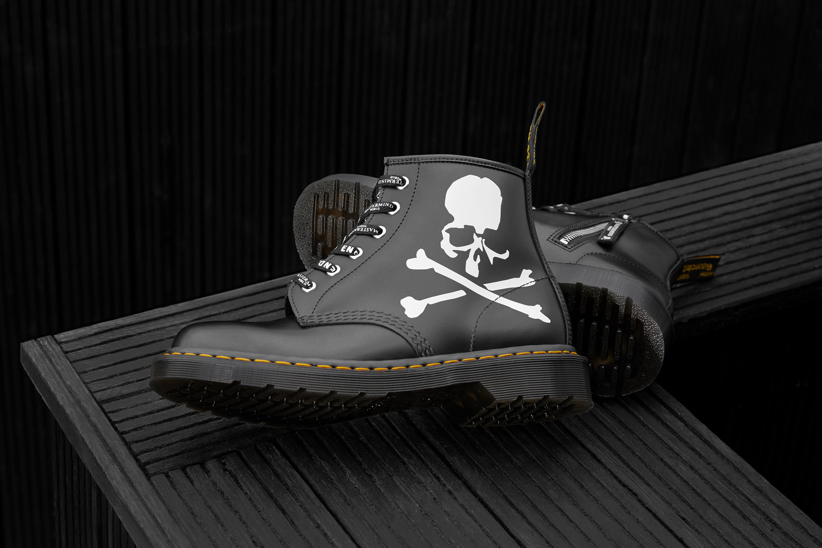 END. x MASTERMIND WORLD x Dr. Martens 三方联名 101 Boot 登场