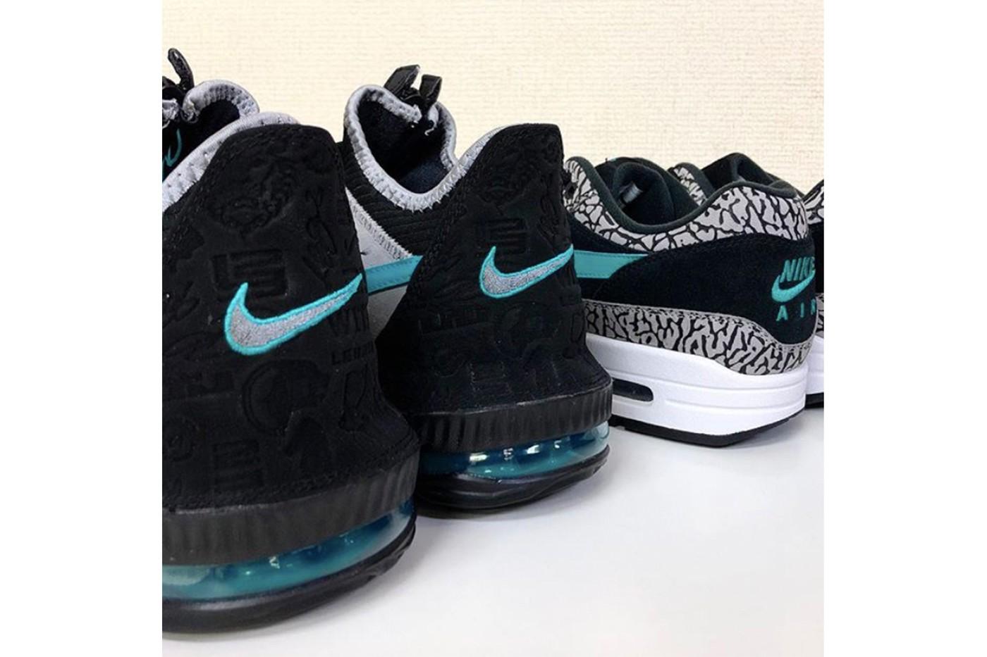 atmos x Nike LeBron 16 Low 移植经典「Elephant」配色曝光?!