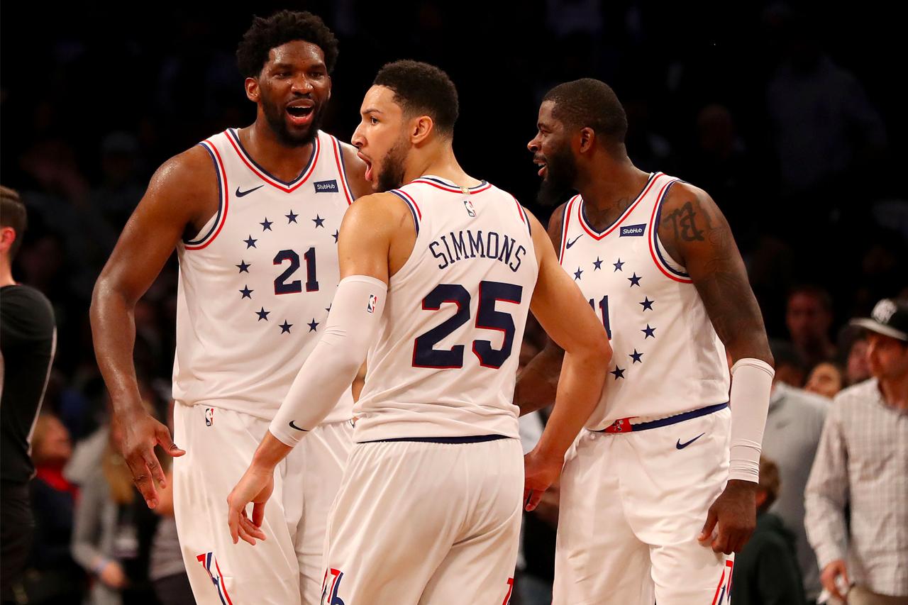 NBA 季后赛 2019 − Philadelphia 76ers 与 Brooklyn Nets 于 Game4 上演激烈冲突