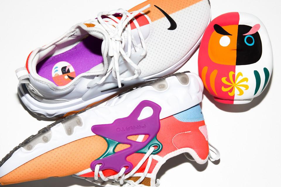 BEAMS x Nike 联名 React Presto「Dharma」正式发布