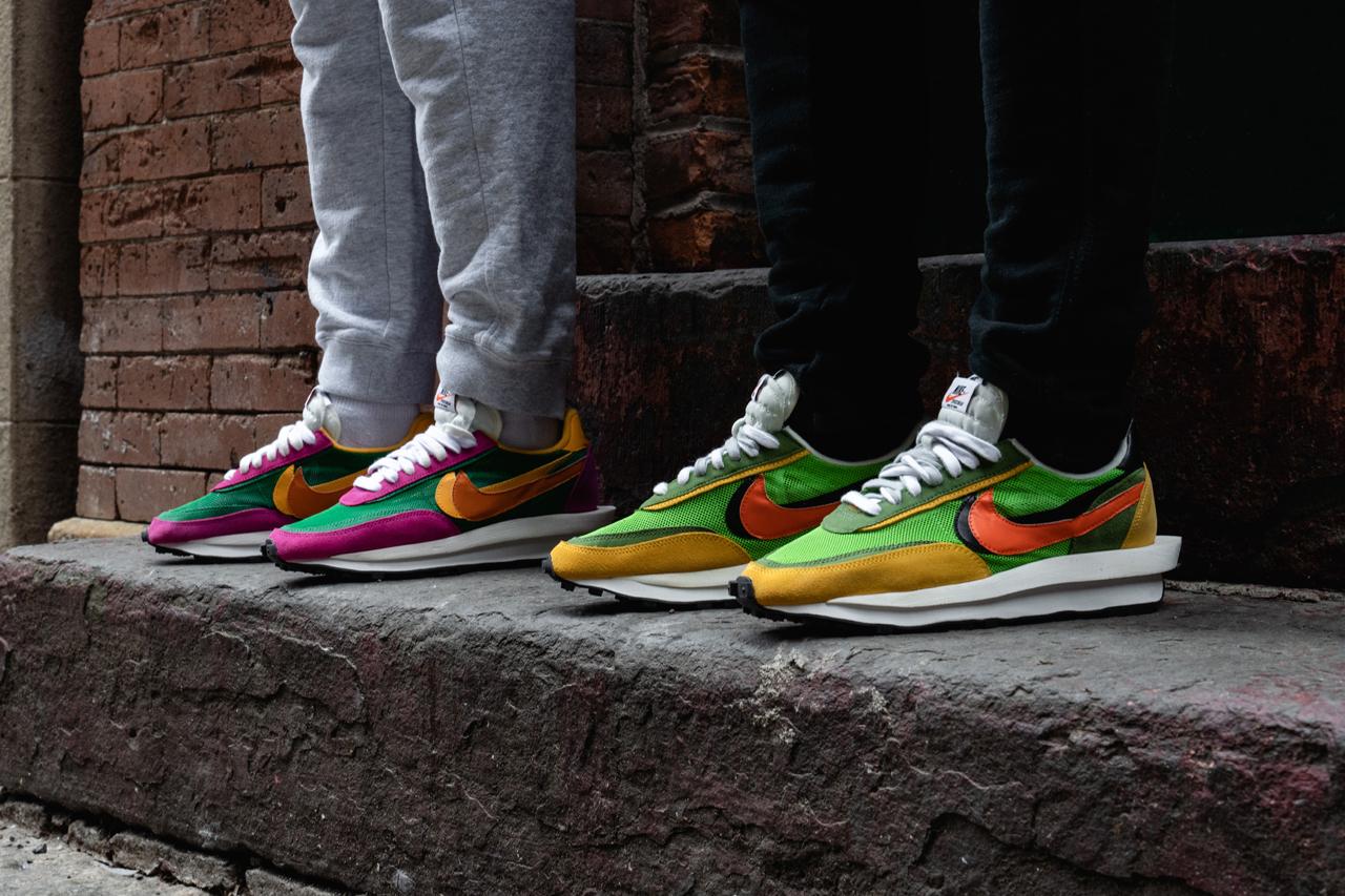 HYPEBEAST 呈现 sacai x Nike 全新联名 LDWaffle Daybreak 系列上脚近赏