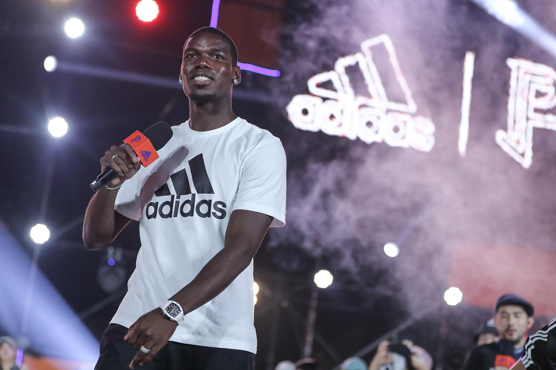 直击 adidas「夏练国度」Paul Pogba 中国行现场