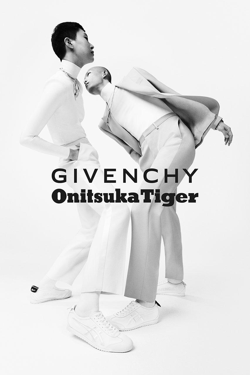 Givenchy 与 Onitsuka Tiger 推出联名「Nippon Made」Mexico 66 GDX 鞋款