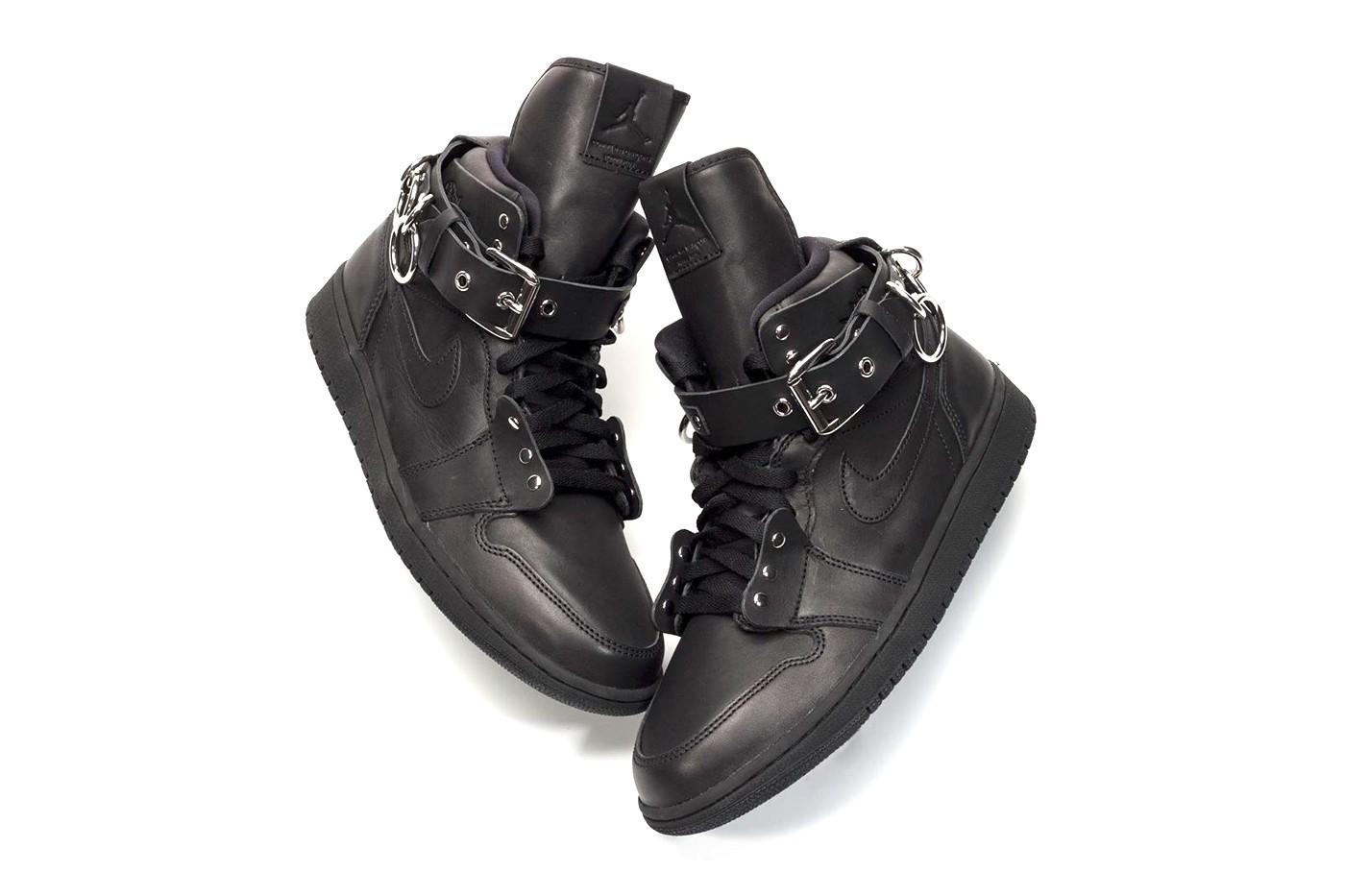 COMME des GARÇONS x Air Jordan 1 全鞋细节曝光