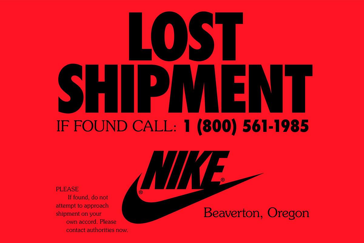Nike 释出全新广告呼吁致电热线寻回 1985 年失物