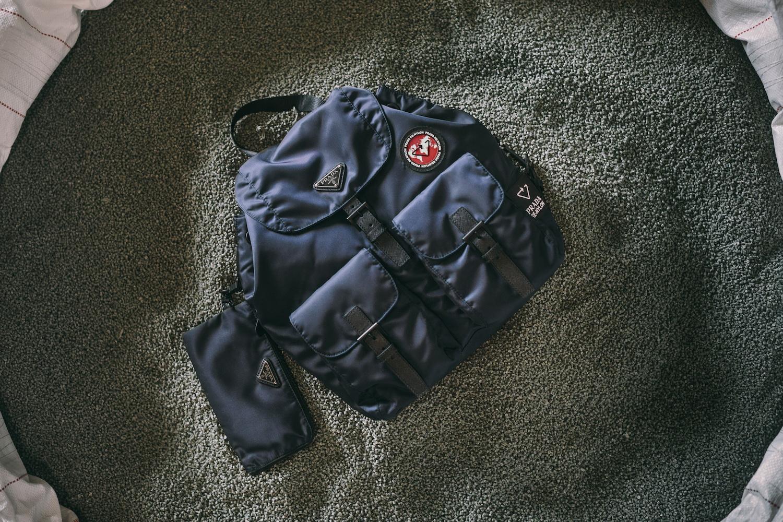 普拉达(Prada)海洋废料制成再生尼龙系列包款