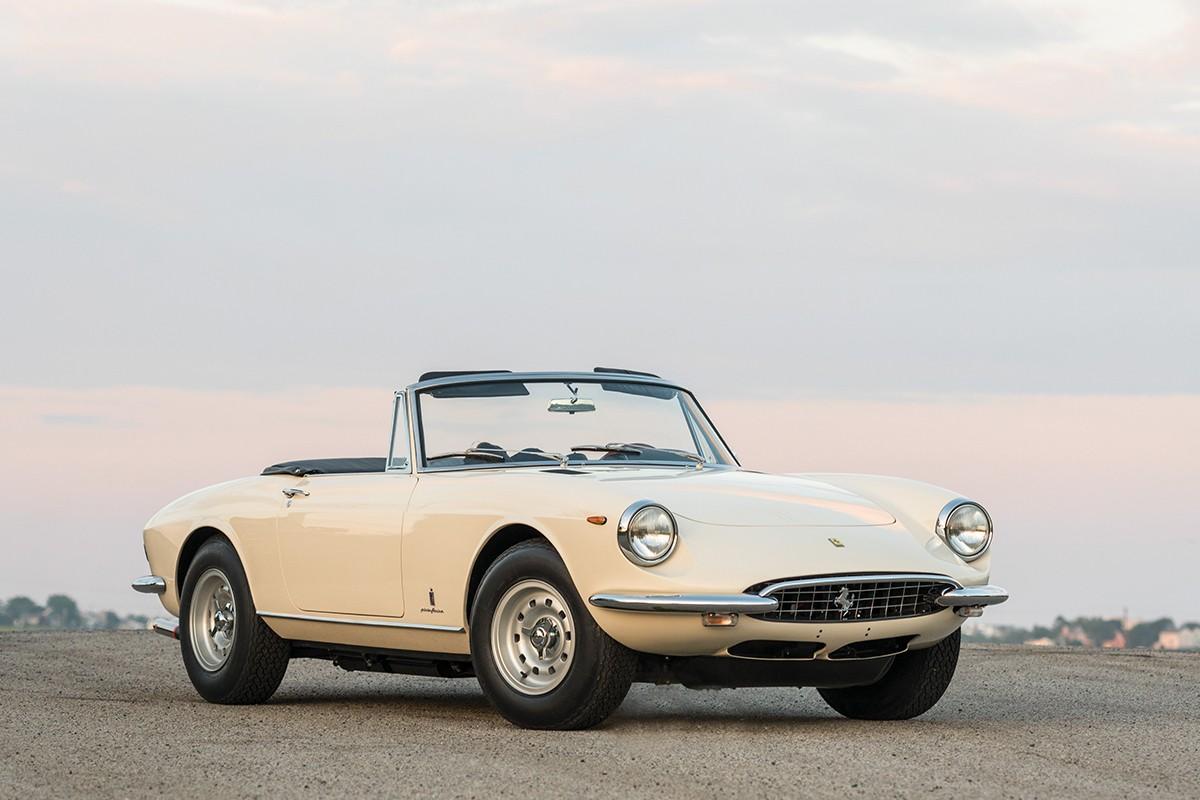 法拉利1969年产365 GTS Spider 将开拍!豪们  整去!