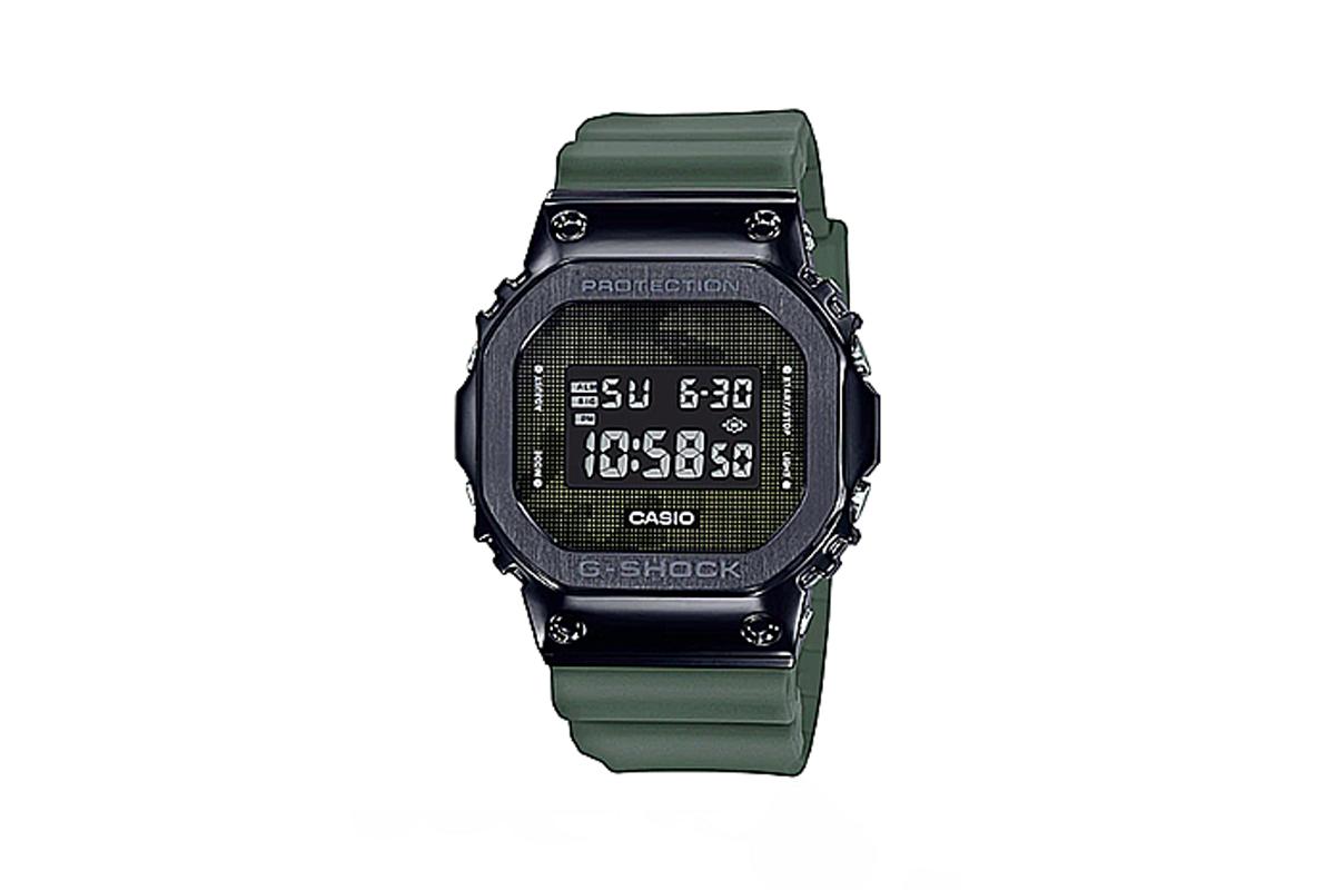 G-Shock「钢 G」GMW-B 5000 不绣钢手表推出军事迷彩版本