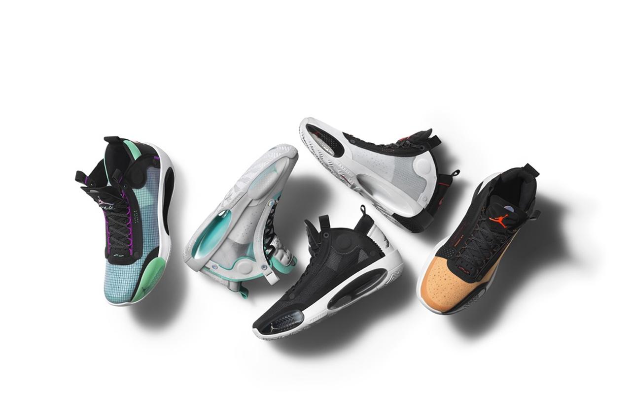 Jordan Brand 发布最新篮球鞋 Air Jordan XXXIV 全新配色系列
