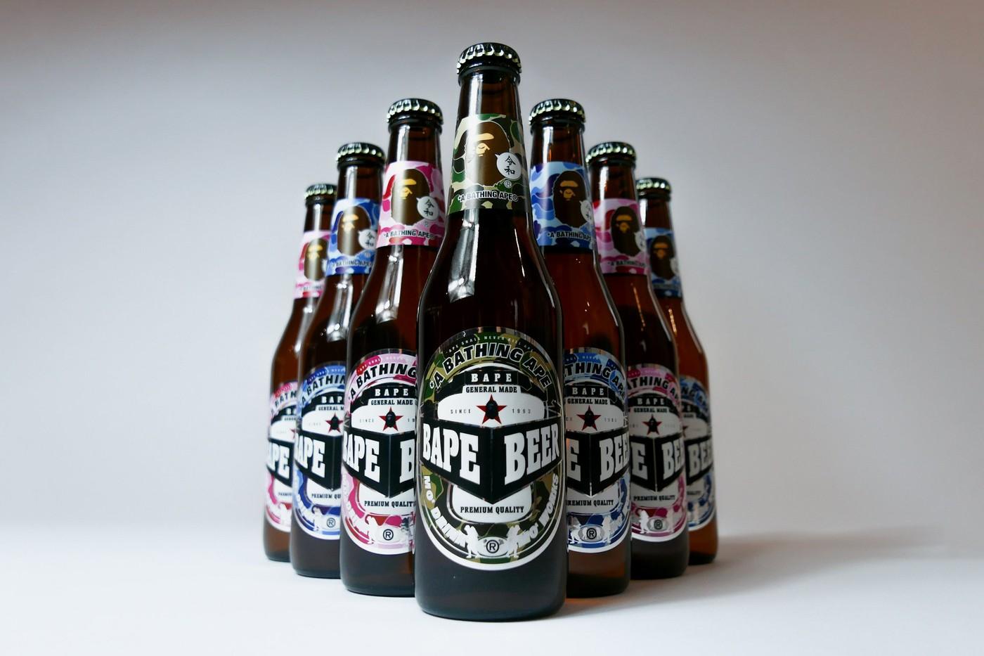 A BATHING APE® 推出免费 BAPE Beer 供消费者索取