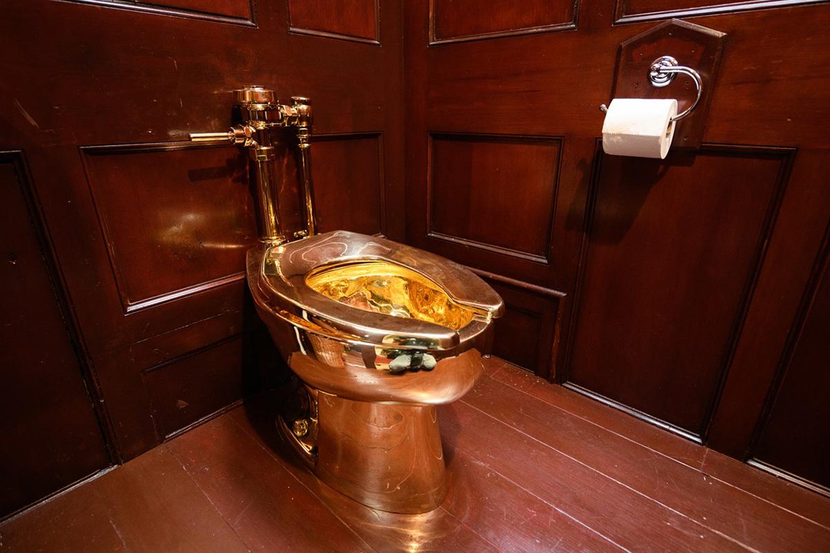 价值 500 万美元的 18K 纯金马桶于英国布伦海姆宫遭窃
