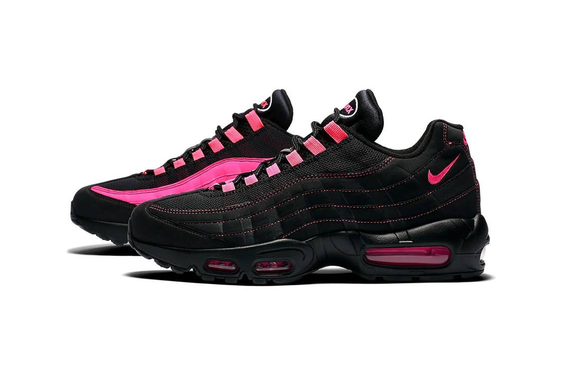 Nike 发布 Air Max 95 和 Air Ghost Racer 全新配色「Pink Blast」