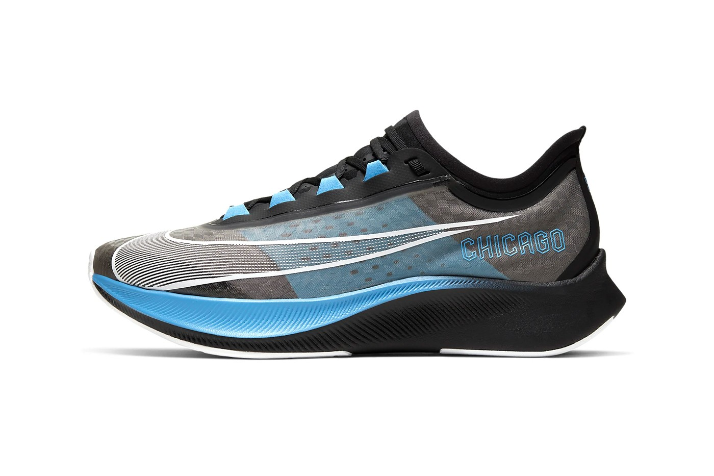 Nike Zoom Fly 3 全新「Chicago Marathon」别注设计发布