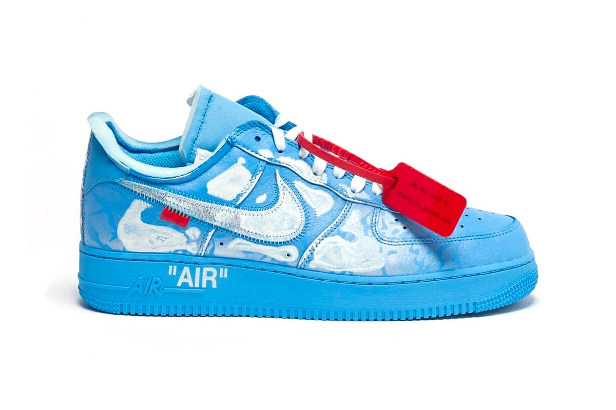 全新限量鞋款 Virgil Abloh x MCA Chicago x Cassius Hirst x Nike Air Force 1 正式开售