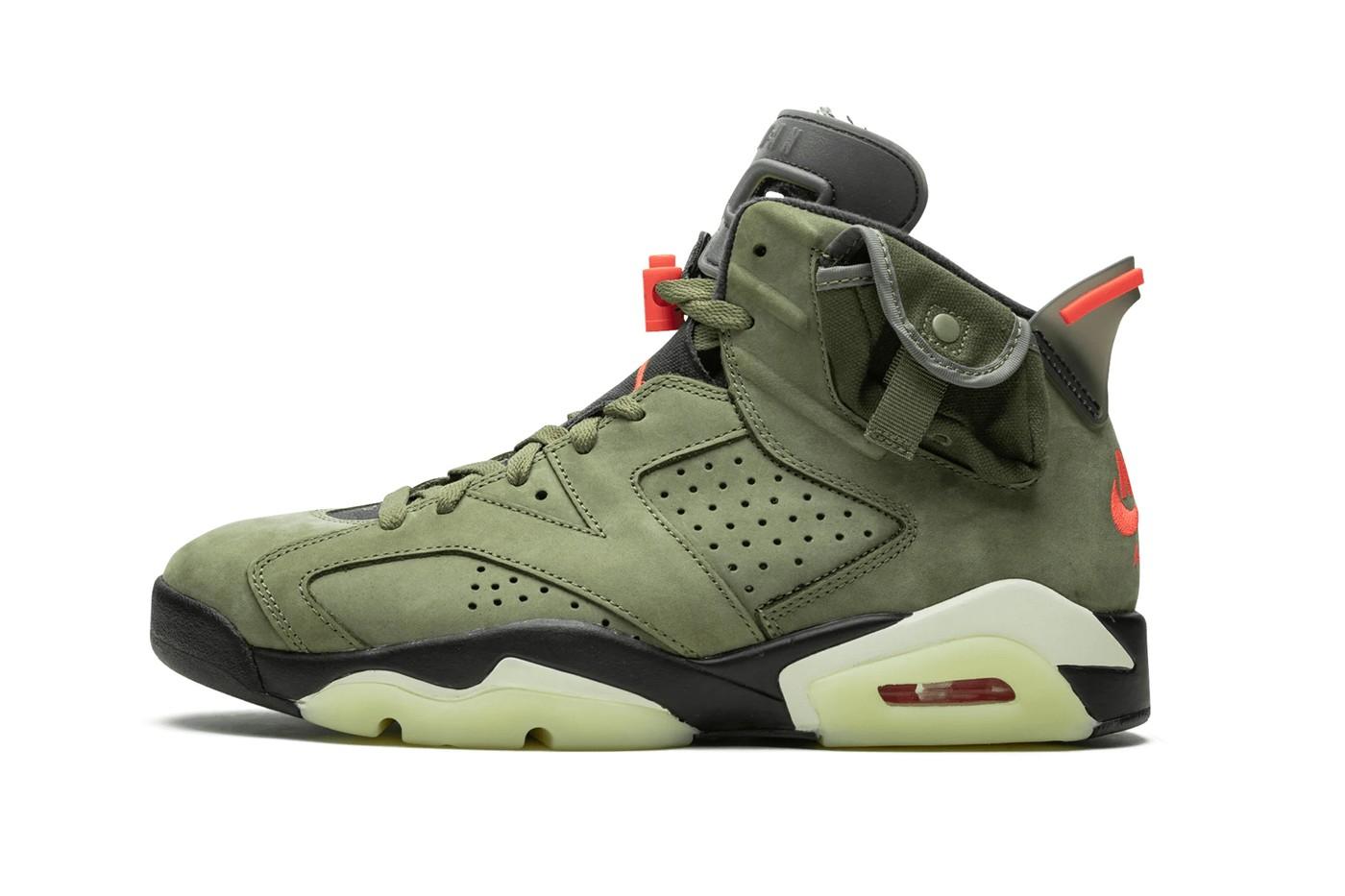 Travis Scott x Air Jordan 6「Cactus Jack」 联名鞋款正式贩售日期曝光