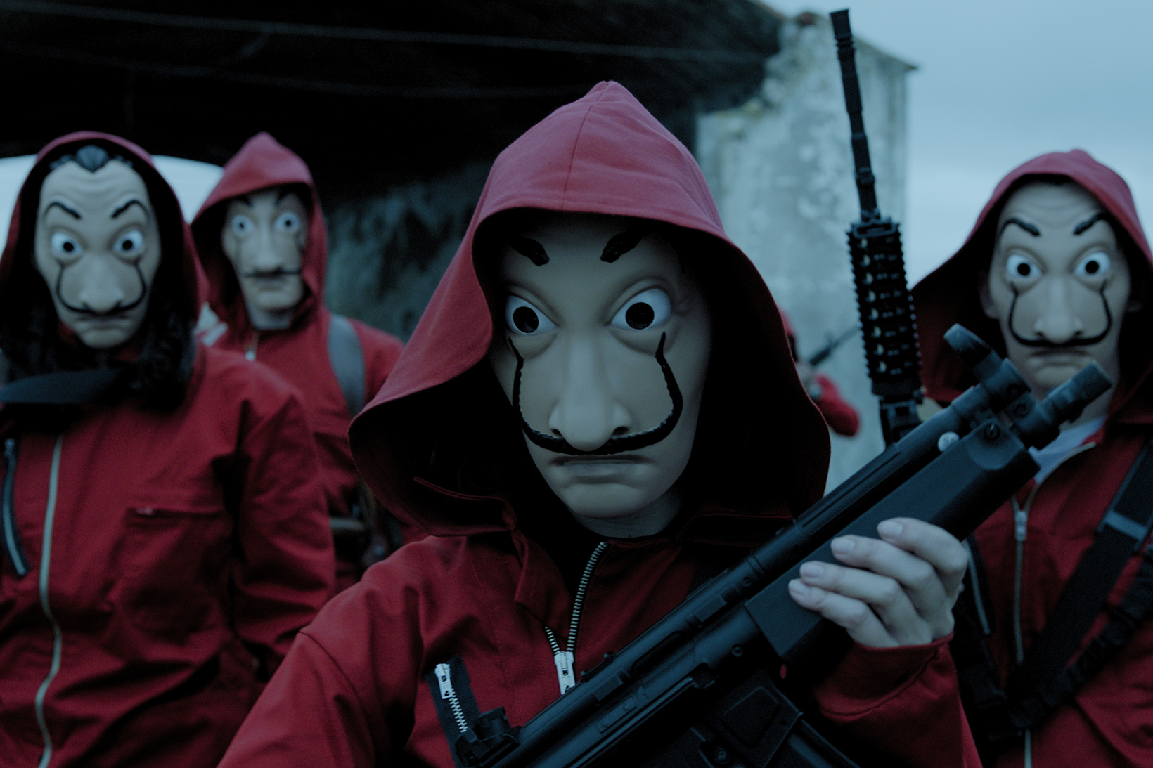 Netflix Money Heist Immersive Experience Tv Show La Casa de Papel